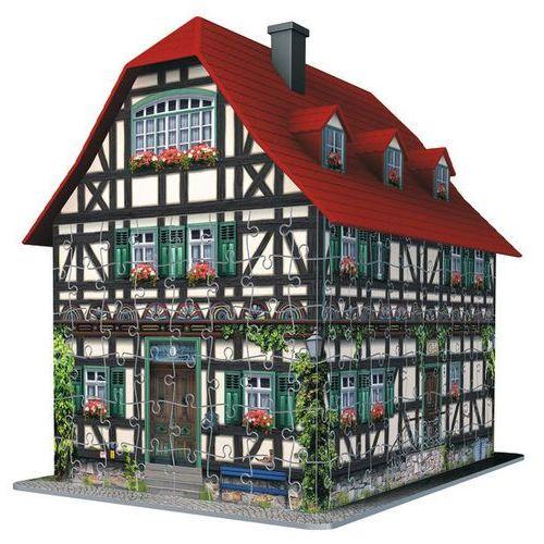 Ravensburger Raven. 216 el 3d średniowieczny dom