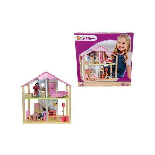 Mały domek dla lalek, 16 el. - produkt z kategorii- domki dla lalek