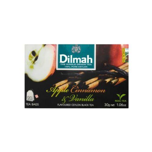 Dilmah Apple i Cinnammon Ex20 herbata z zawieszką, DI.APPLE.CINN.E20.ET