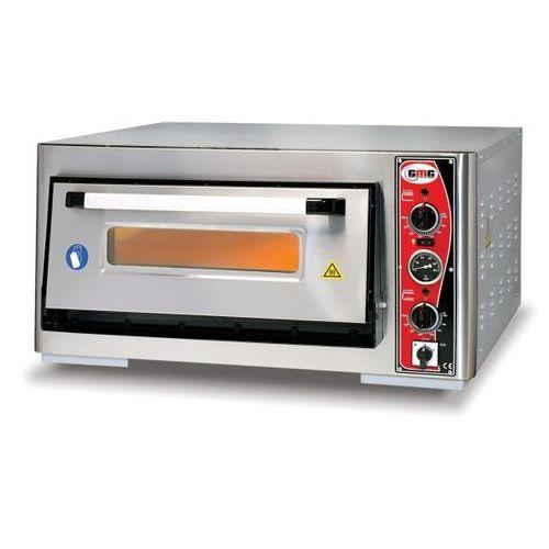 Piec do pizzy 1-komorowy GMG PF 6262 E - z termometrem.