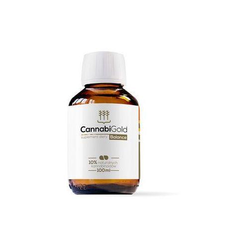 CannabiGold Balance- opakowanie rodzinne olejek CO2 z konopi włóknistych Hempoland 100ml