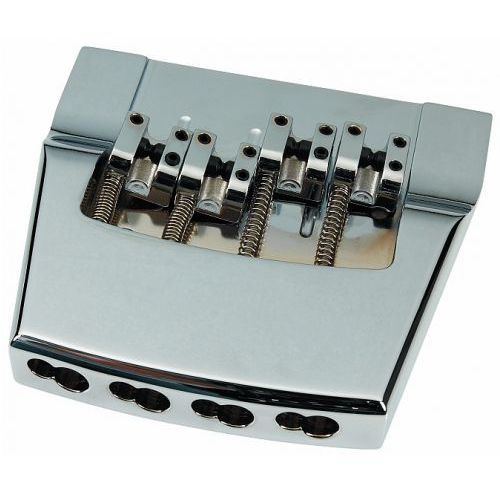 Hipshot Rickenbacker Replacement Bridge - chromowany