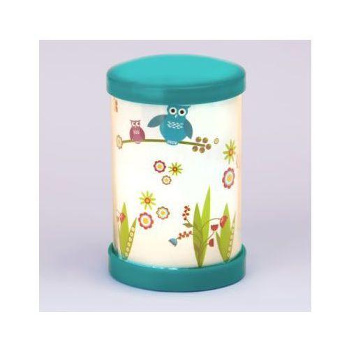 BRILLIANT Lampka na biurko mała Birds, kolorowa LED (lampka biurkowa)