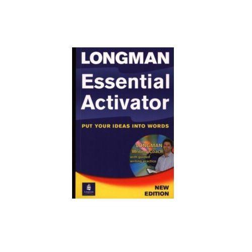 Longman Essential Activator + CD-ROM Miękka Oprawa, Pearson