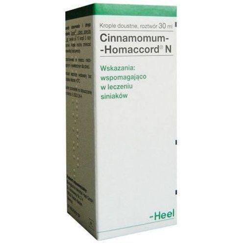 HEEL Cinnamomum-Homaccord N krople 30 ml (Homeopatia)