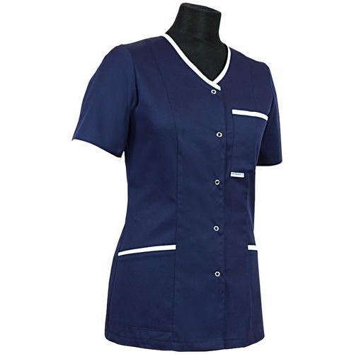 Dlapacjenta.pl - odzież medyczna Bluza medyczna 024 + z lamówką lub wypustką - damska