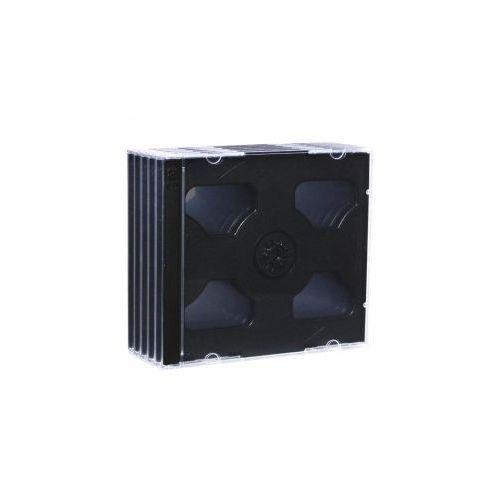 pudełko na 2 cd jewel black tray pak 5 szt. - 3019 darmowy odbiór w 15 miastach!, marki Esperanza