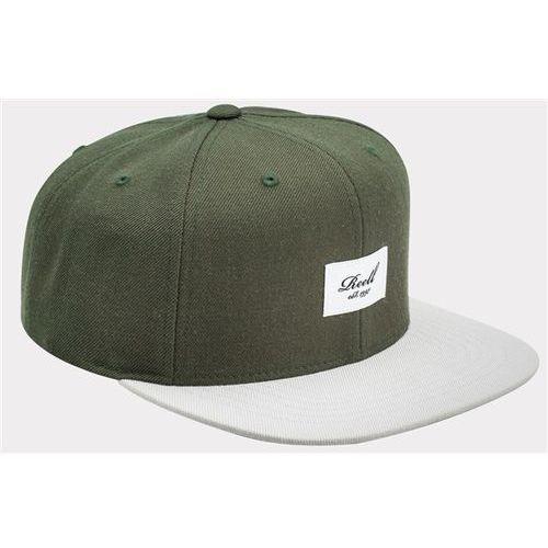 czapka z daszkiem REELL - Pitchout 6-Panel Olive / Light Grey (OLIVE / LIGHT GREY), kolor szary