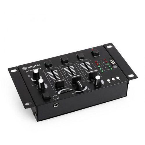 DJ Skytec STM-3020 3/2-kanałowy mikser wejścieMP3-USB, 172.976