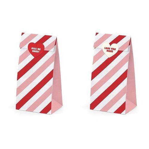 Torebki prezentowe z serii Sweet Love - 6 szt.