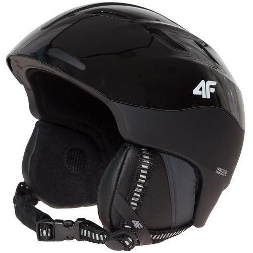 4f Kask narciarski męski ksm152z - czarny