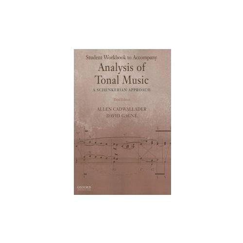 Student Workbook to Accompany Analysis of Tonal Music (9780199732487)