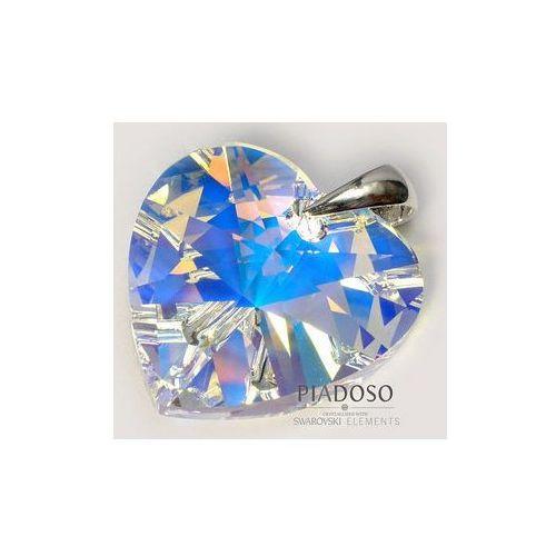 Arande Promocja swarovski srebro wisiorek duży kryształ