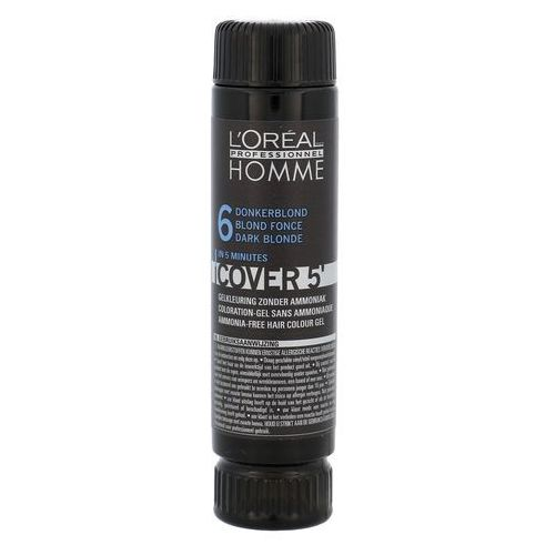 L'oréal professionnel homme color farba do włosów 3 szt. odcień 6 dark blond (color gel ammoniak-free) 3x50 ml