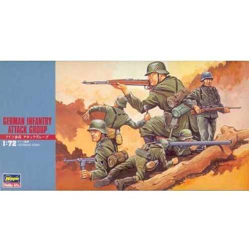 Hasegawa German infantry attack group - (4967834312302)