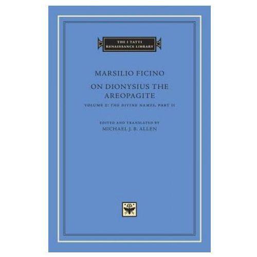 On Dionysius the Areopagite, Volume 2 (9780674743793)