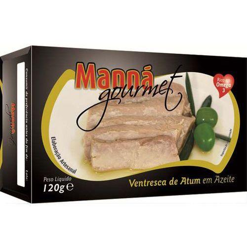 Ventresca portugalskie brzuszki z tuńczyka w oliwie extra virgin 120g Manná GOURMET