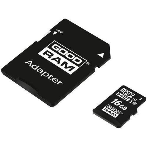 Goodram microsdhc 16gb class 10 uhs i + adapter - m1aa-0160r12