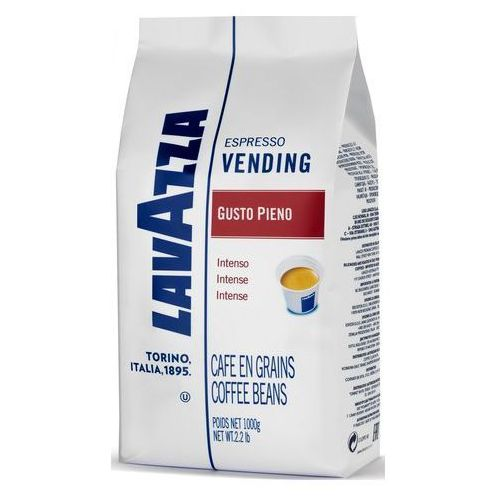 Lavazza Kawa ziarnista espresso vending gusto pieno 1kg