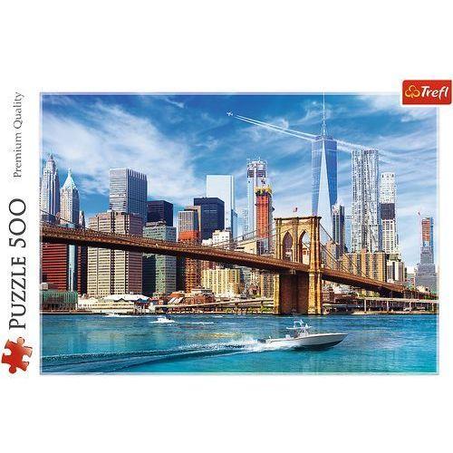 Puzzle 500 widok na nowy jork marki Trefl