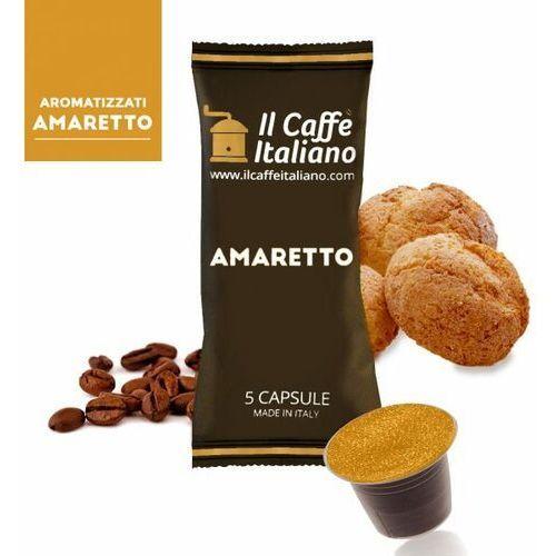 Nespresso kapsułki Amaretto (kawa aromatyzowana) kapsułki do nespresso – 50 kapsułek