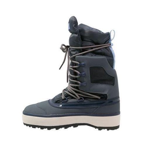 adidas by Stella McCartney NANGATOR 2 Śniegowce bold onix/antique white/flight, niebieski w 4 rozmiarach