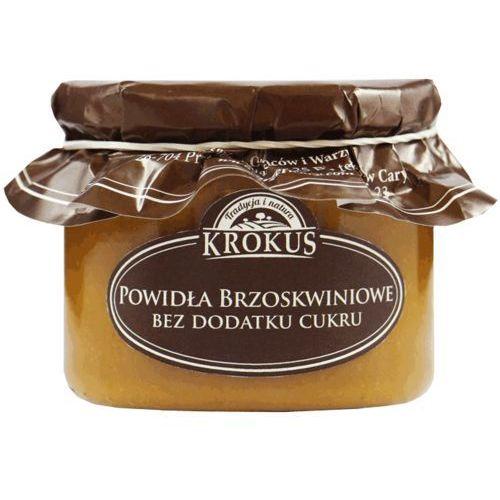 Powidła Brzoskwiniowe Bez Dodatku Cukru 310g - Krokus