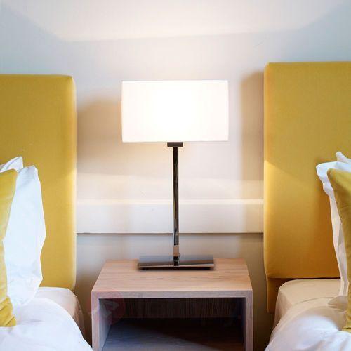 Lampa stołowa PARK LANE polerowany, biały (5038856040012)
