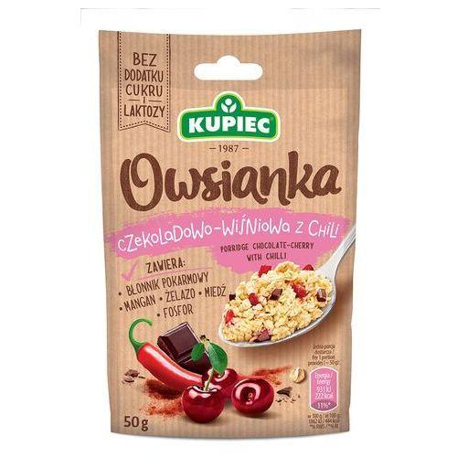 Owsianka czekoladowo wiśniowa z chili 50g (bez dodatku cukru i laktozy) (5906747175009)