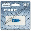 Produkt z kategorii- pendrive - GOODRAM FLASHDRIVE 8192MB USB 2.0 CUBE