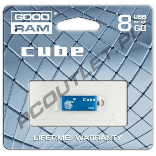 GOODRAM FLASHDRIVE 8192MB USB 2.0 CUBE, kup u jednego z partnerów