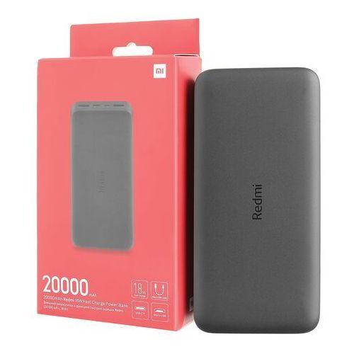 Xiaomi Redmi 18W Fast Charger Power Bank 20000 mAh (czarny), PB200LZM