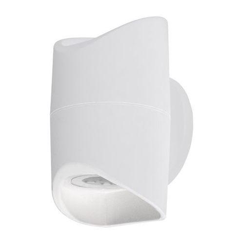 Kinkiet Eglo Abrantes 95075 zewnętrzny lampa ścienna 2x6W LED 3000K IP44 biały