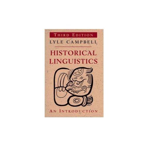 Historical Linguistics (9780748645947)
