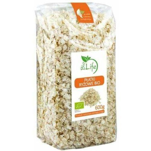 BIOLIFE 600g Płatki ryżowe Bio (5901785340754)