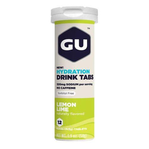 GU Energy Brew Hydration Żywność dla sportowców Cytryna limonka 12 Stück 2018 Napoje izotoniczne i inne