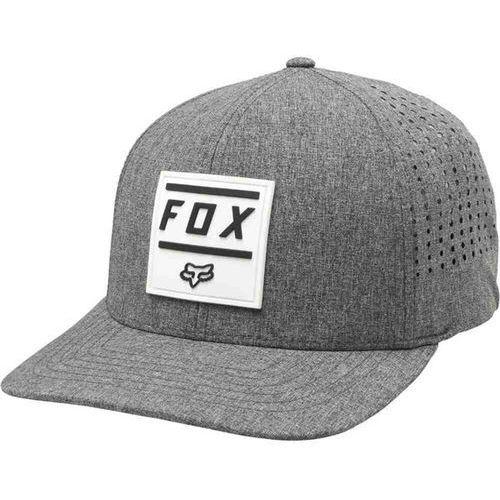 Czapka z daszkiem - listless flexfit hat heather graphic (185) rozmiar: s/m marki Fox