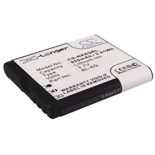 Nokia 6700 Classic / BL-6Q 950mAh 3.52Wh Li-Ion 3.7V (Cameron Sino) (4894128027386)