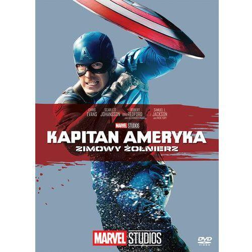 Anthony russo, joe russo Kapitan ameryka: zimowy żołnierz (dvd) kolekcja marvel (płyta dvd) (7321941502341)