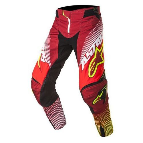 Alpinestars mx Spodnie alpinestars techstar factory s7 red/wh/ye f