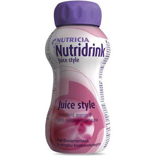 Nutricia nutridrink juice style - truskawka - dieta beztłuszczowa - 200ml