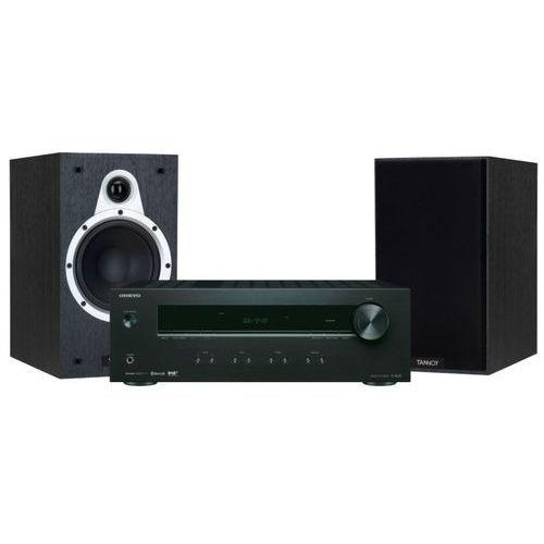 Zestaw stereo tx-8220b + tannoy eclipse one czarny + darmowy transport! marki Onkyo