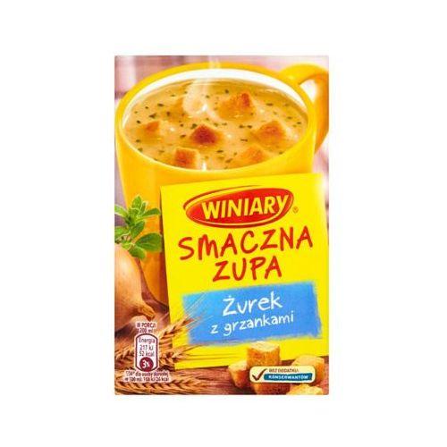 Winiary 13g smaczna zupa żurek z grzankami