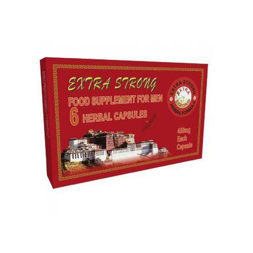 Extra Strong For Men 6 kaps. Bardzo mocna tabletka na potencję 420018, 1048
