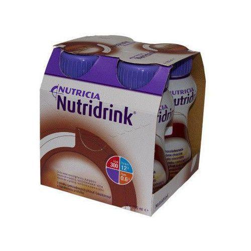NUTRIDRINK smak czekoladowy 200ml x 4 sztuki z kategorii Witaminy i minerały