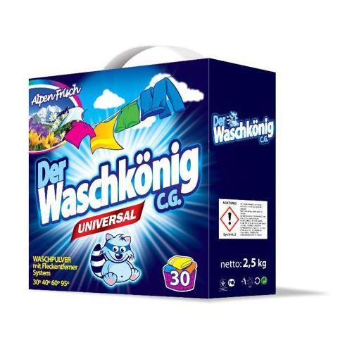 Waschkonig Universal Proszek Do Prania 2,5 kg 30 prań (proszek do prania ubrań)