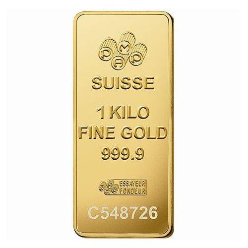 Sztabka złota 1000 g (1 kg) pamp marki Pamp suisse