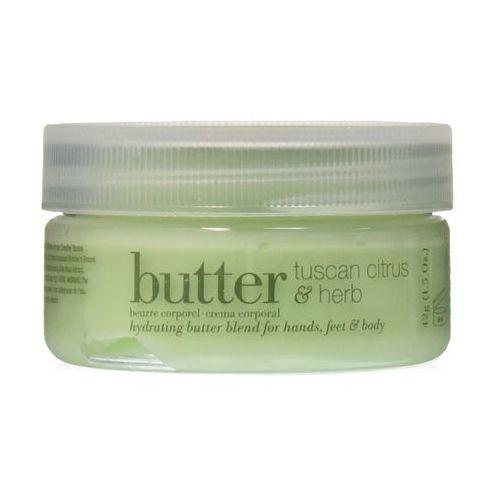 Cuccio butter blend | nawilżające masło do ciała - cytrus i zioła 42g (7546346436753)