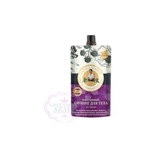 Bania Agafii - peeling do ciała - do masażu - pestki maliny arktycznej, oleje: cedrowy, rokitnikowy, szarłatu (amarantusa), rumiankowy, nagietkowy oferta ze sklepu Lawendowa Szafa
