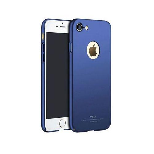 Msvii Etui simple ultracienkie iphone 7 niebieskie